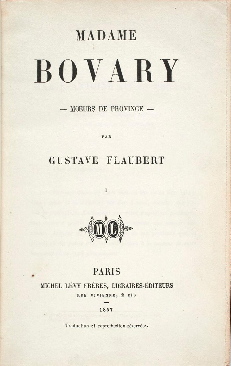 """Published as a two-volume book in 1857, """"Madame Bovary"""" has been analyzed and parsed ever since, the focus of at least 20 translations into English alone and more than a dozen films."""