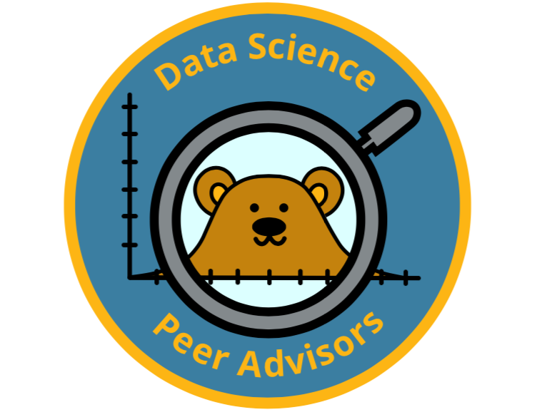 Data Science Peer Advising Logo
