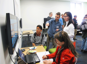 Photo of a D-Lab data science workshop at UC Berkeley