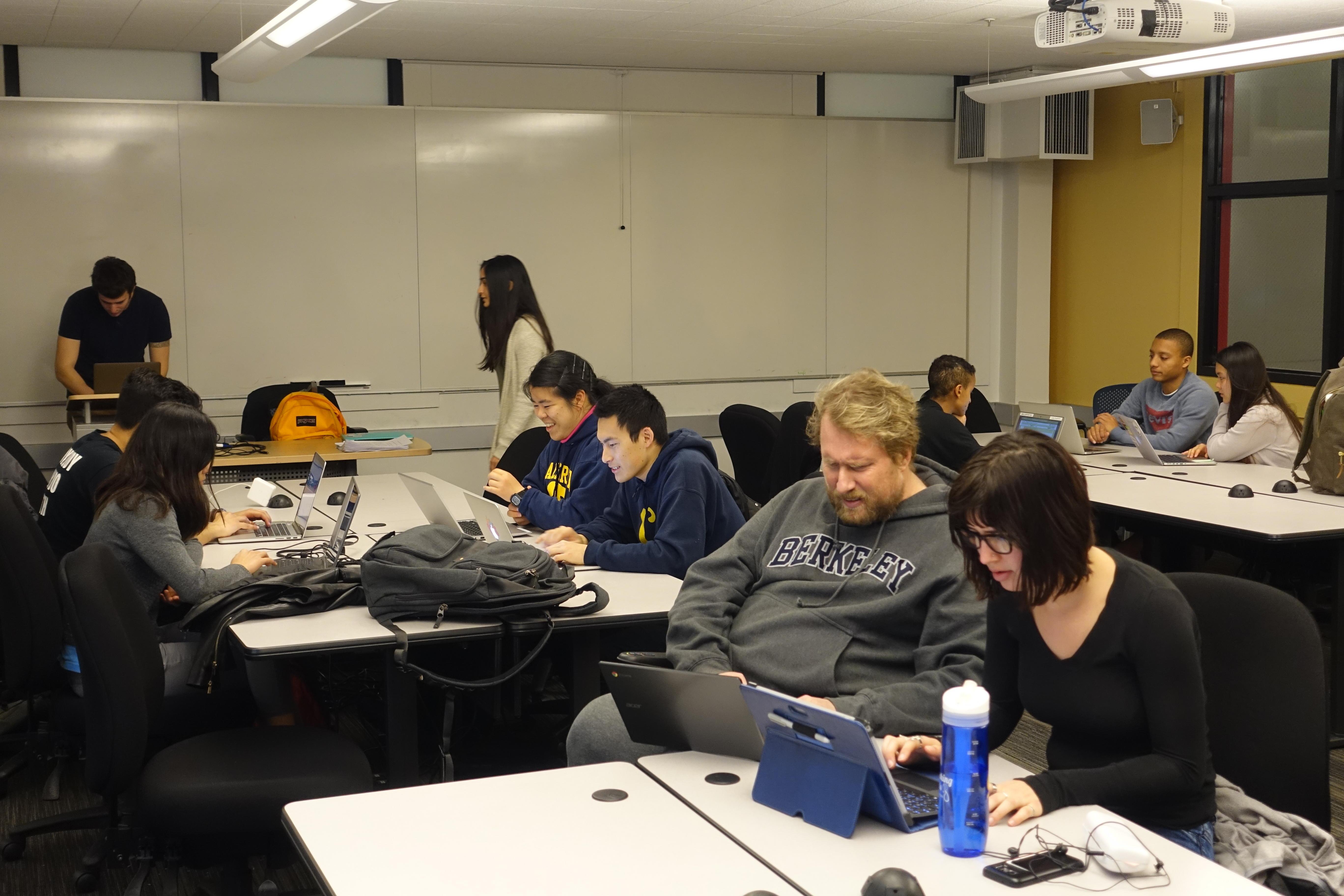 Data Science module in UC Berkeley Ethnic Studies course