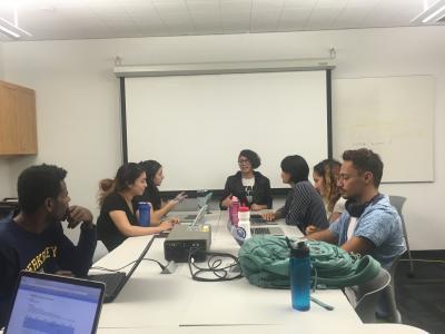 Data scholars meeting photo