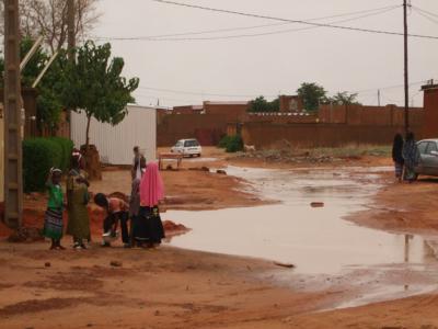 Monsoon flooding image
